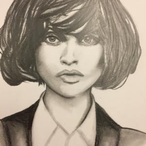 portrait étude